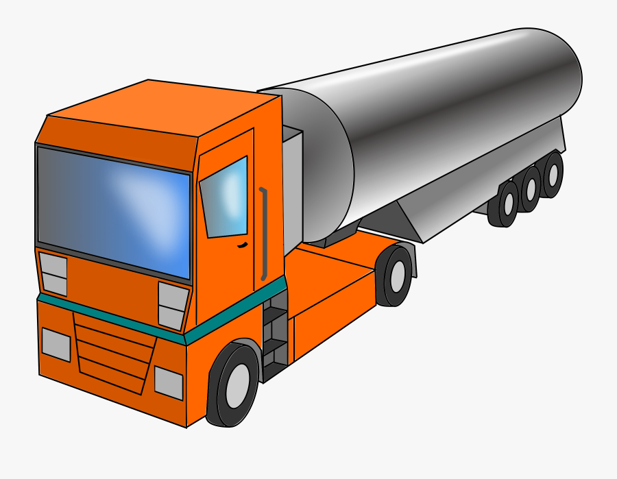 Cargo,freight Transport,commercial Vehicle - Milk Truck Png, Transparent Clipart