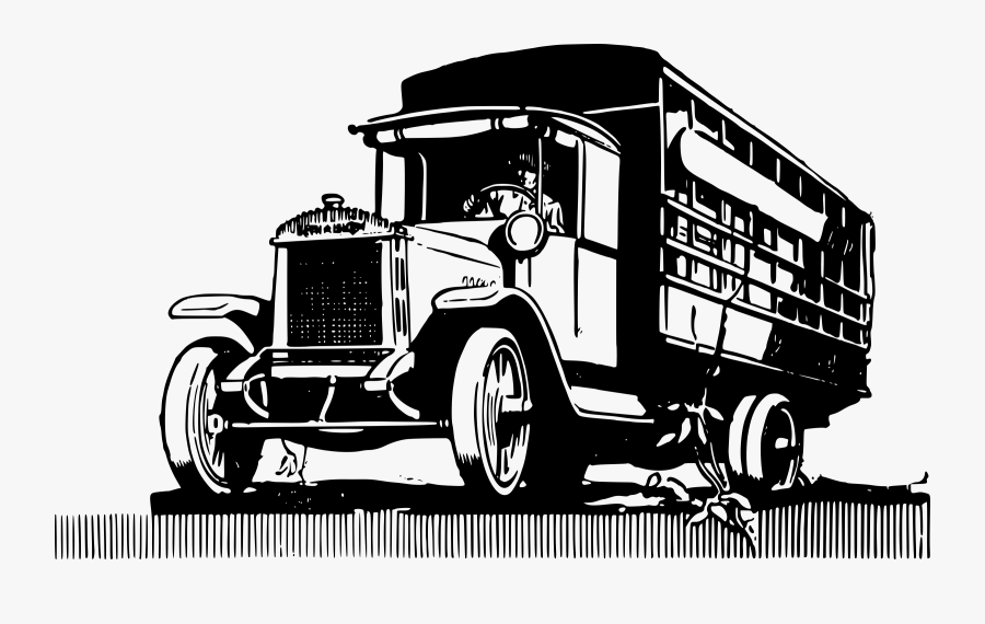 Car Pickup Truck Semi-trailer Truck Logging Truck - Old Truck Clipart Png, Transparent Clipart