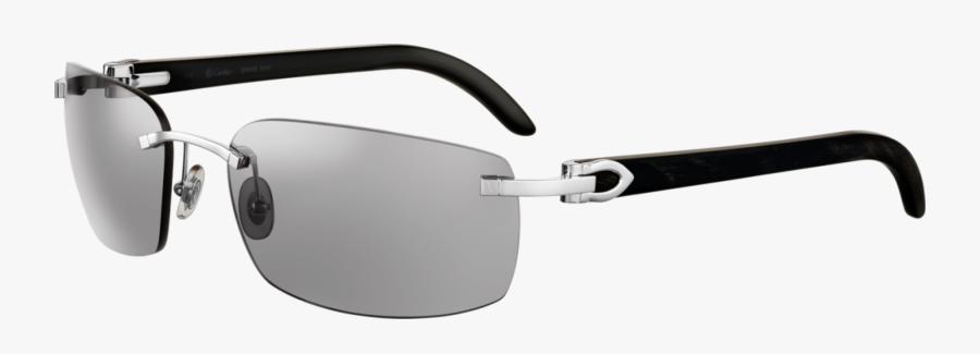 Replica Cartier White Buffalo Sunglasses - Cartier Limited Edition Glasses, Transparent Clipart