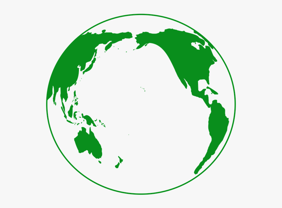 Transparent Planet Earth Clipart - Green Planet Icon Png, Transparent Clipart