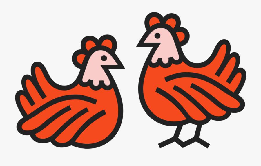 Chicken Coop - Drawing - Urban - Chickens - Hens - - Chicken, Transparent Clipart