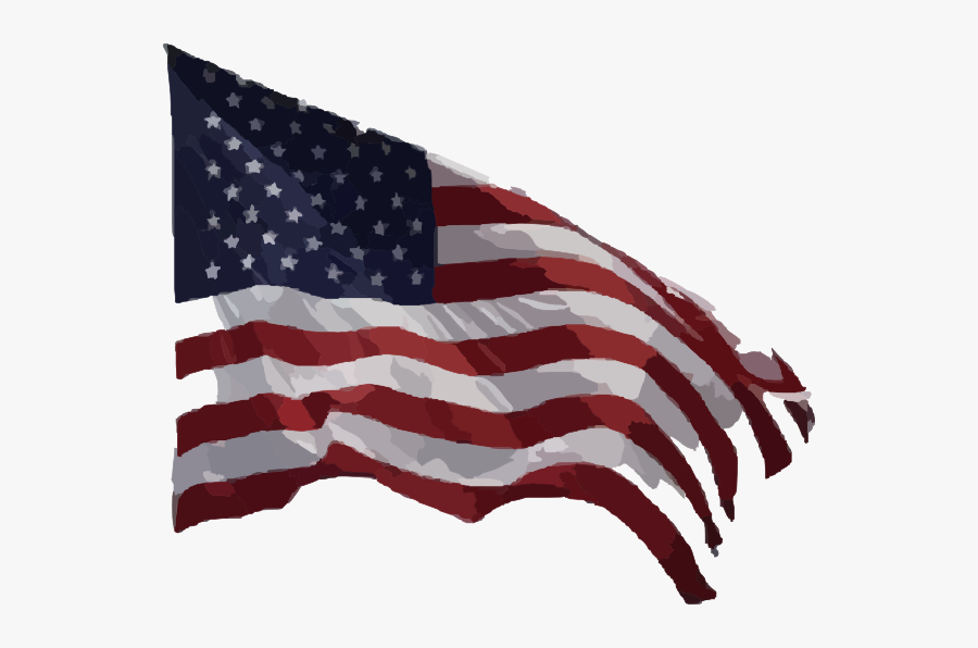 Real American Flag Png, Transparent Clipart
