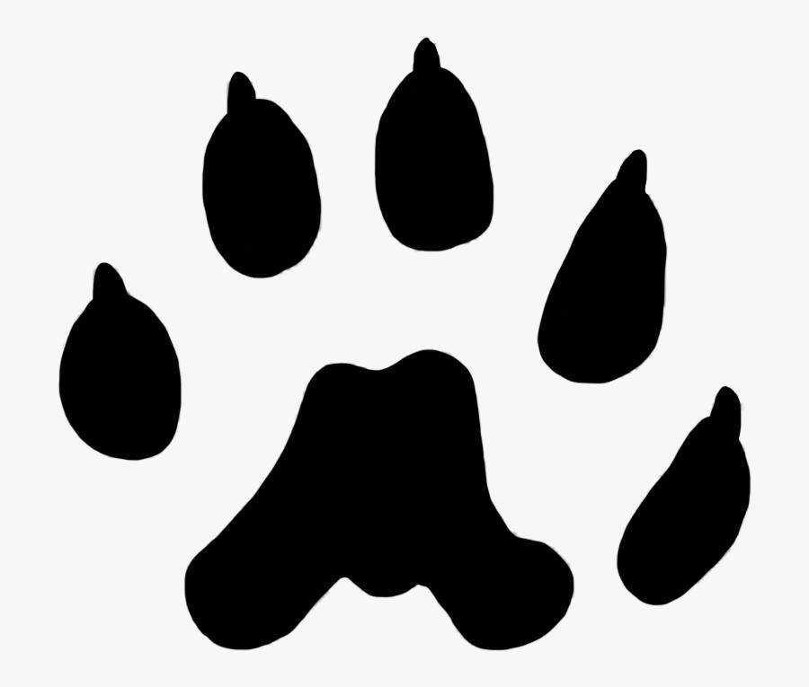Paw Prints Clipart - Transparent Paw Print Cat, Transparent Clipart