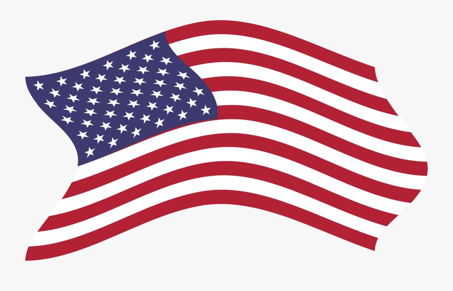 Breezy Big Image Png - Clip Art American Flag Transparent Clipart, Transparent Clipart