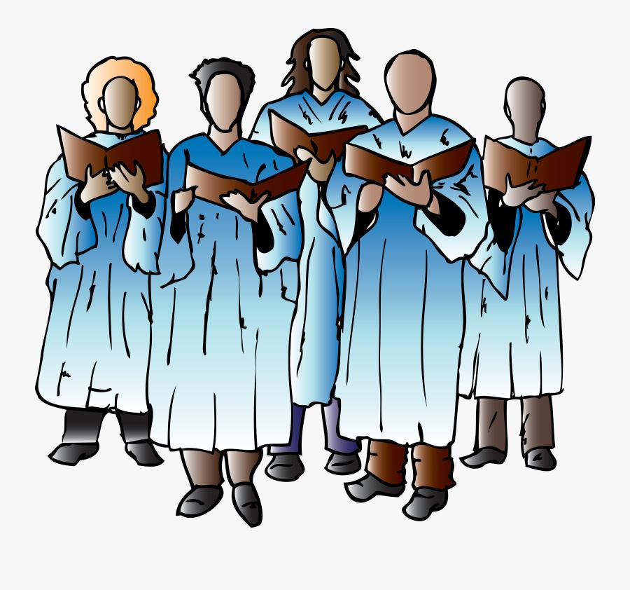 Church Choir Clipart, Transparent Clipart