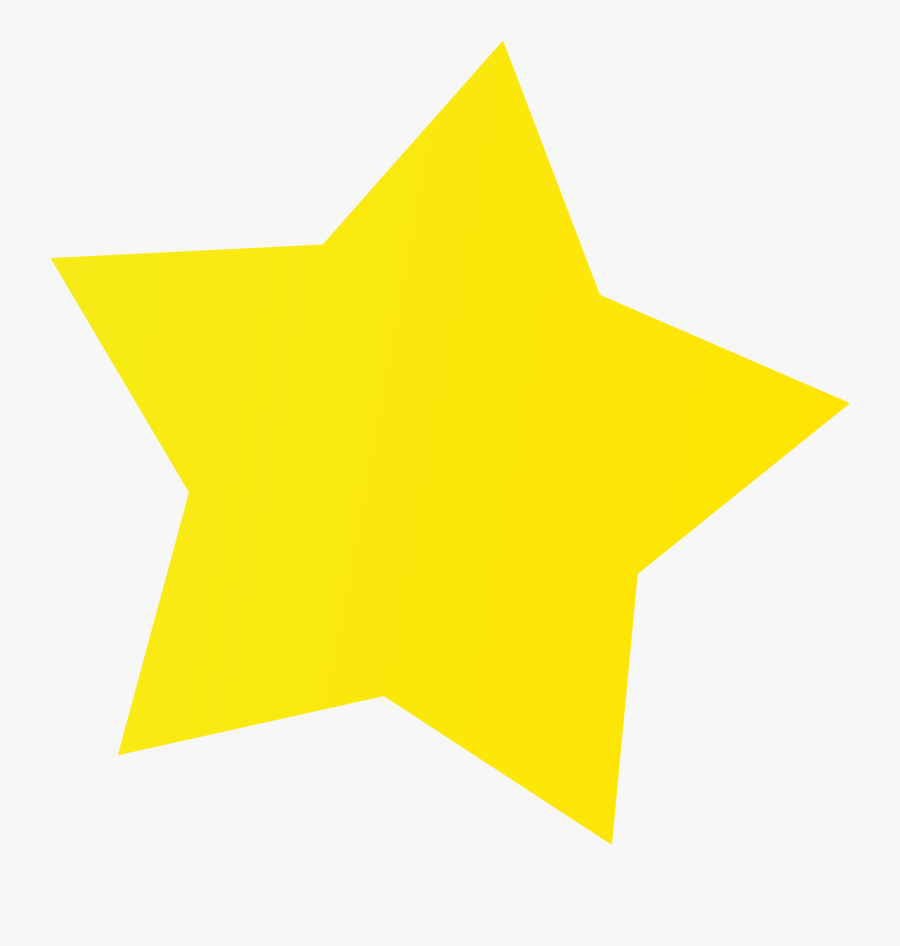 Image Of Yellow Stars Clipart - Yellow Star Clipart Black And White, Transparent Clipart
