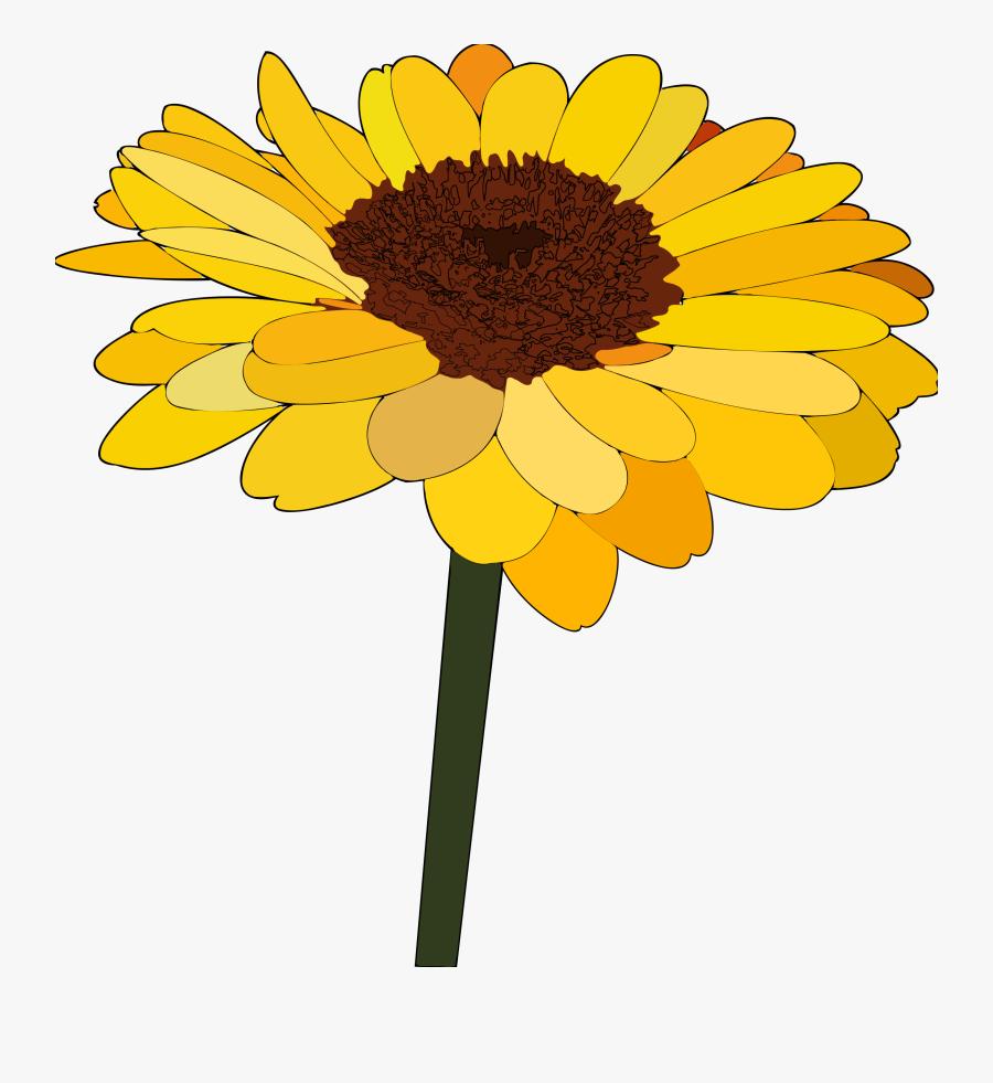 Sunflowers Clipart Bunga Matahari Cartoon Sunflower Free Transparent Clipart Clipartkey