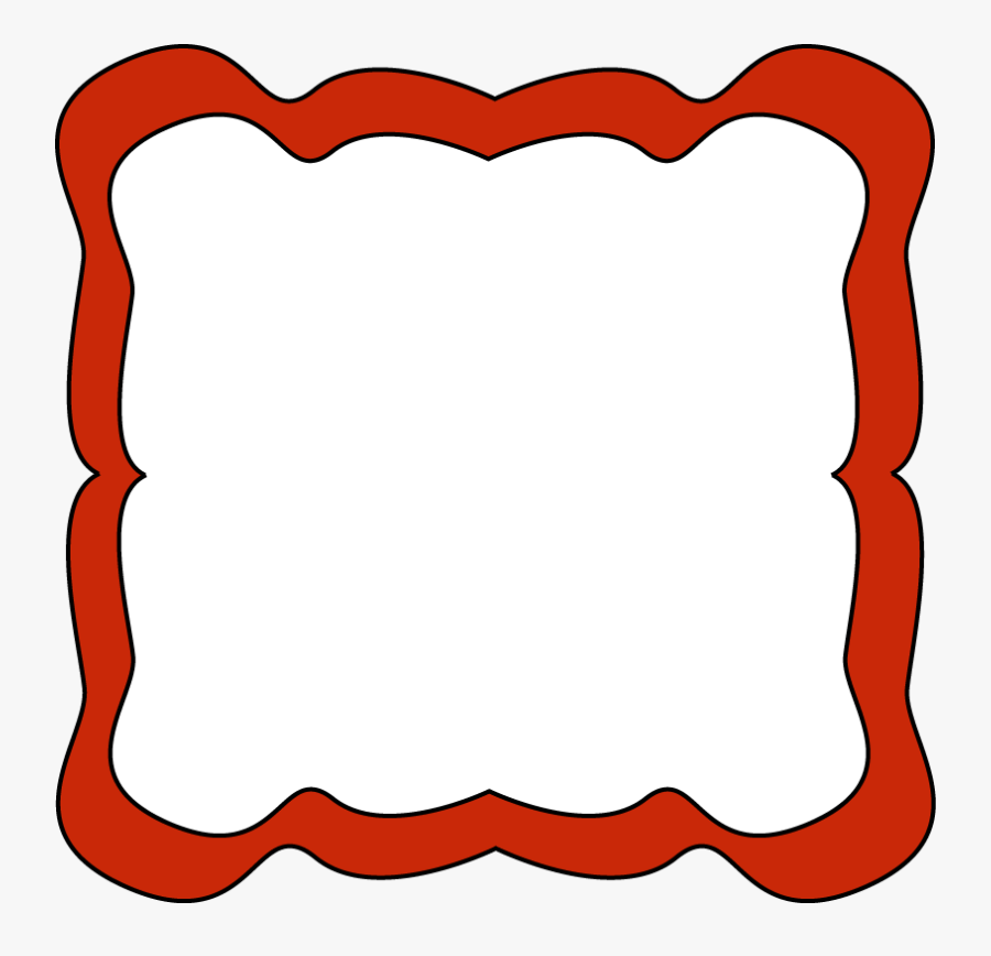 Red Clip Art Borders - Red Borders And Frames Clip Art, Transparent Clipart