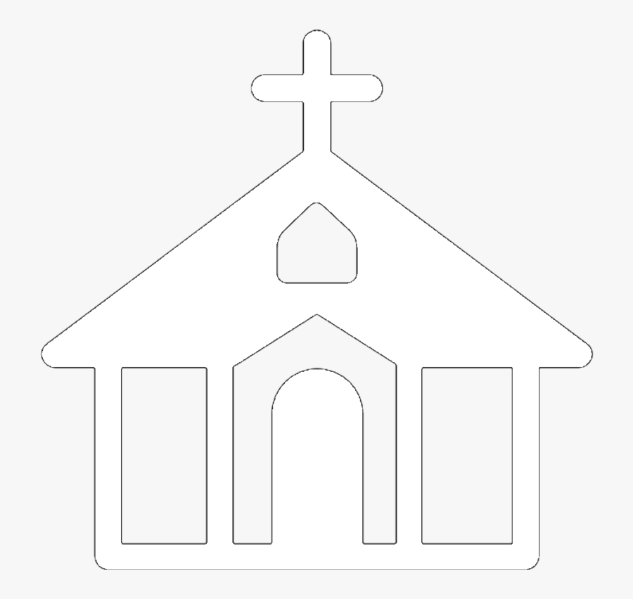 Free Church Clipart Black And White Images & Photos【2018】 - White Church Symbol Png, Transparent Clipart