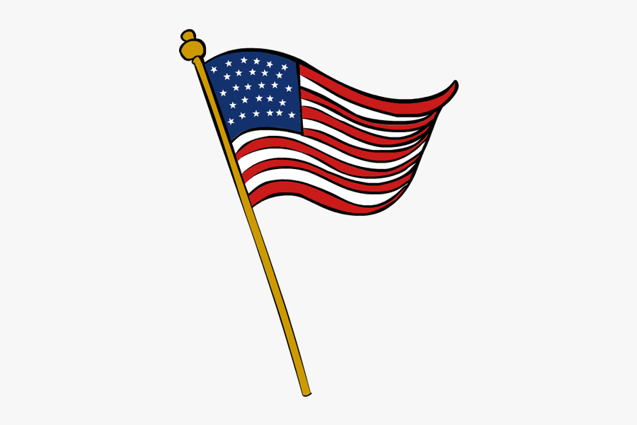 Collection Of Free Veterans - Transparent American Flag Clip Art, Transparent Clipart