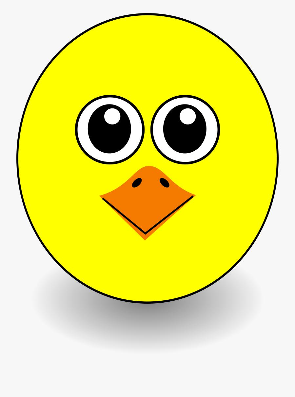 Clip Art Cartoon Chicken Face - Chicken Face Clipart, Transparent Clipart