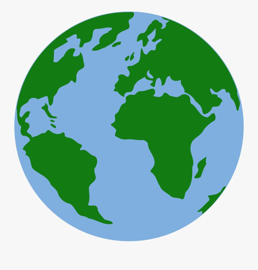 Leaf,area,globe - Clipart Earth Transparent Background, Transparent Clipart