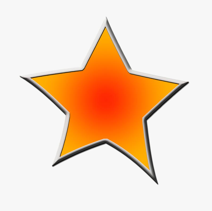 Dark Blue Framed Stars - Star Frames And Borders, Transparent Clipart