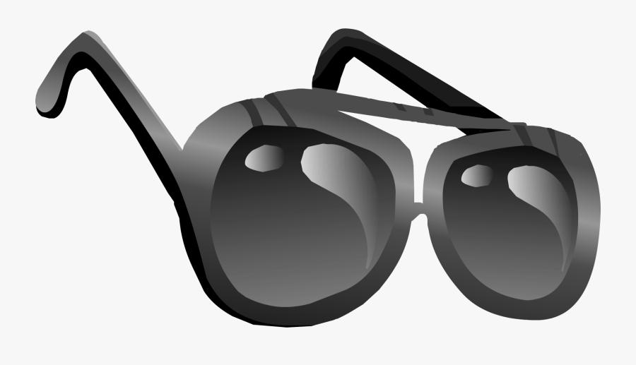Police Aviators - Club Penguin Shades, Transparent Clipart