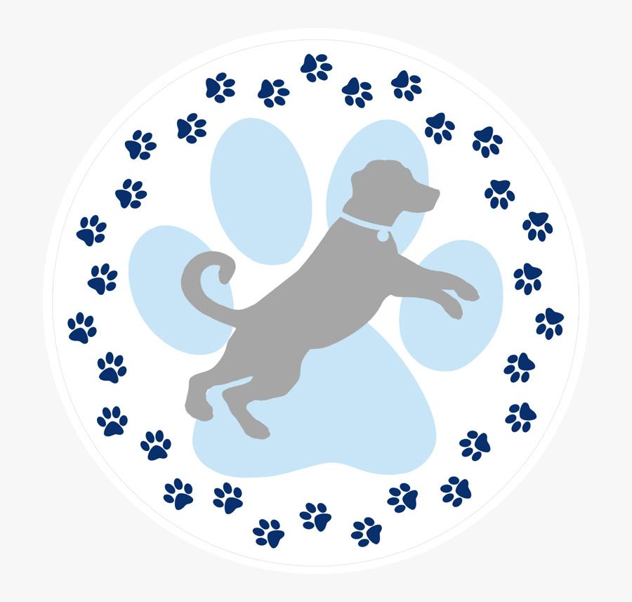 Dog Paw Prints Screen Door Magnets - Dog Paw Print Designs, Transparent Clipart