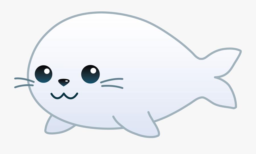 Sea Lion Clipart - Draw A Cute Sea Lion, Transparent Clipart