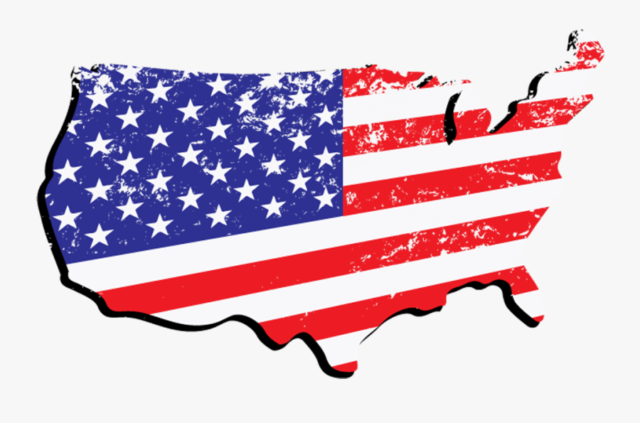 Patriotic Clipart Flag United States - Us Flag In Country, Transparent Clipart