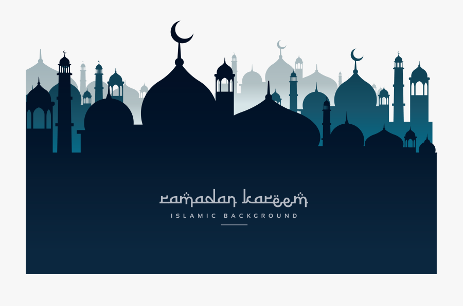 Mubarak Poster Night Mosque Ramadan Eid Church Clipart - Eid Al Adha Poster, Transparent Clipart