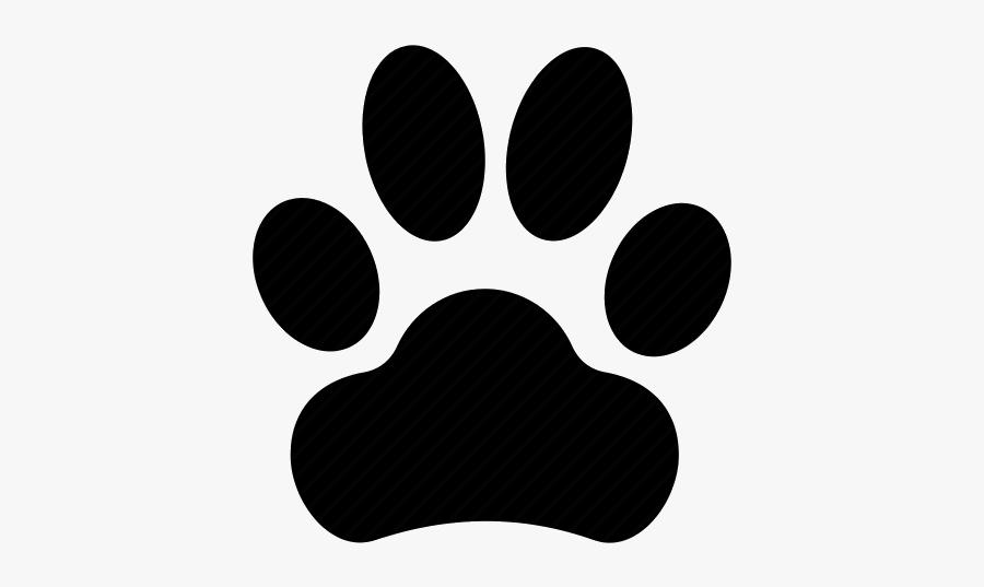 Paw Print X Dog Image Free Clip Art Transparent Png - Paw Print Dog Icon Transparent Background, Transparent Clipart