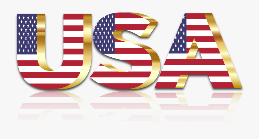 Clipart - Clipart Waving American Flag, Transparent Clipart