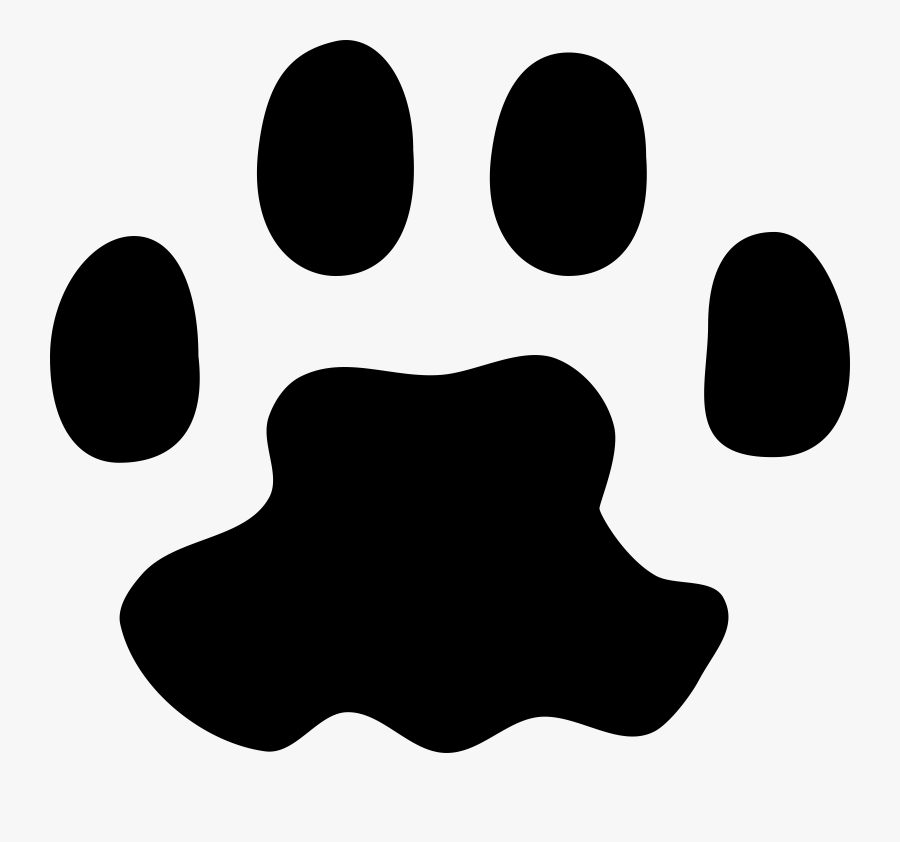 Paw Prints Clipart - Cat Paw Print Transparent Background, Transparent Clipart