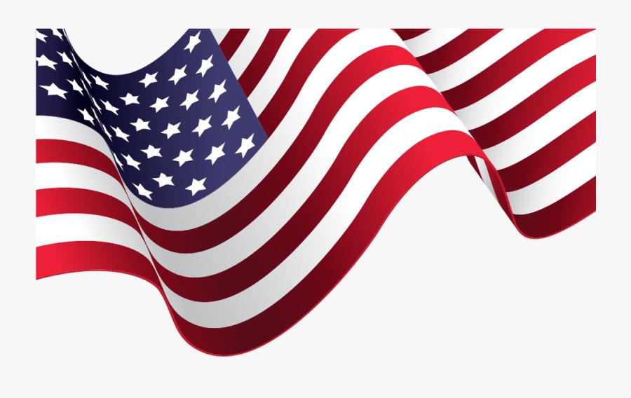 Transparent American Flag Clip Art Png - American Flag Vector Png, Transparent Clipart