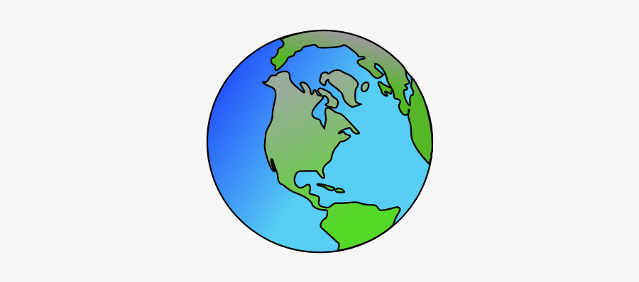 Planet Earth Clipart Earth Home - World And America Clip Art, Transparent Clipart