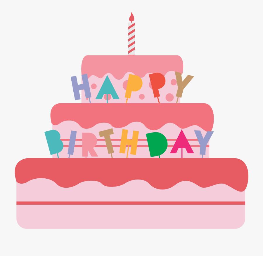 Birthday Cake - Birthday Cake Cake Clipart, Transparent Clipart