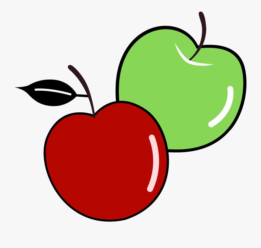 Banner Free Stock Apple Clip Public Domain - Clipart Apples, Transparent Clipart