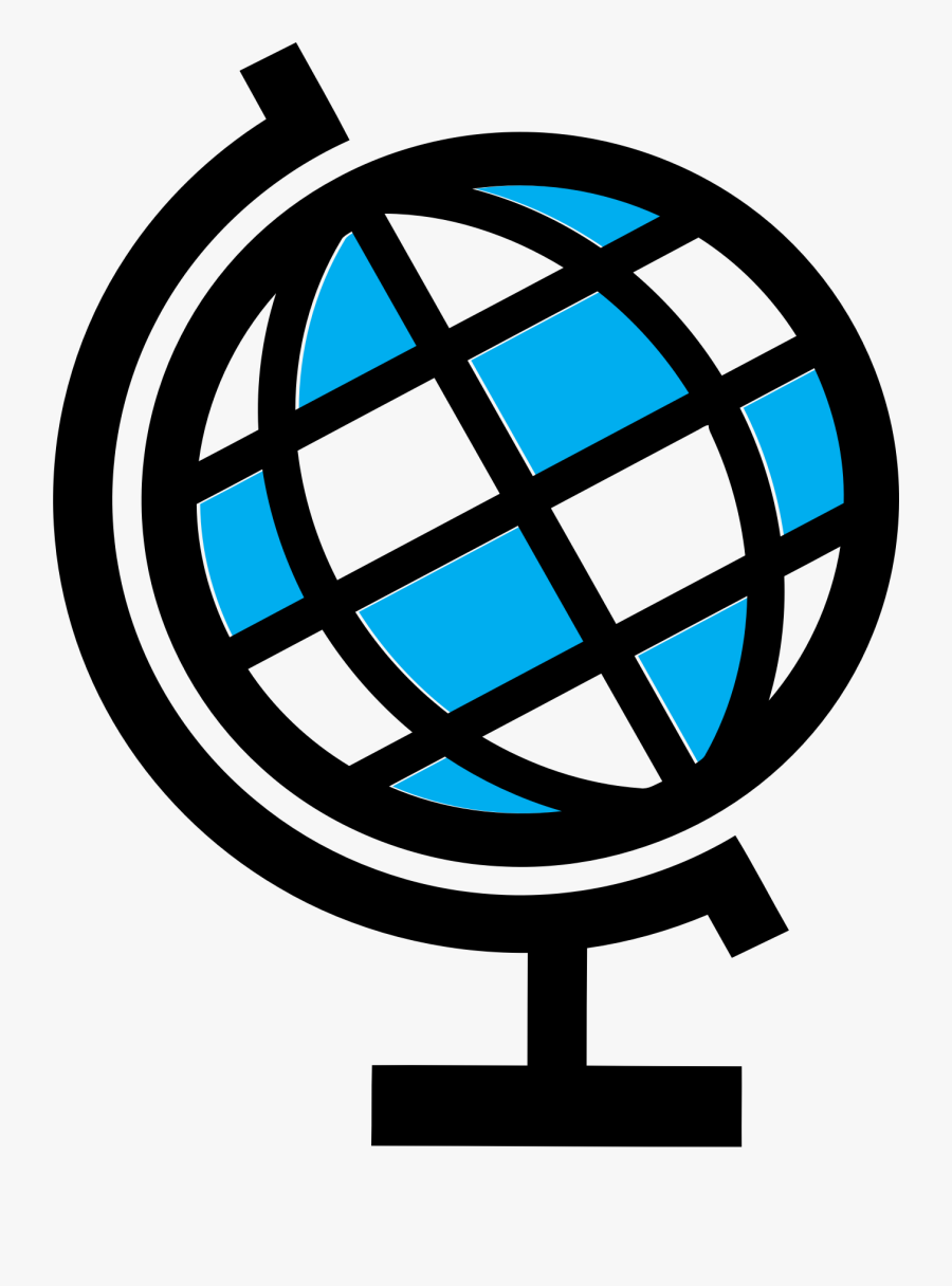 Clipart - Globe Stand Png, Transparent Clipart