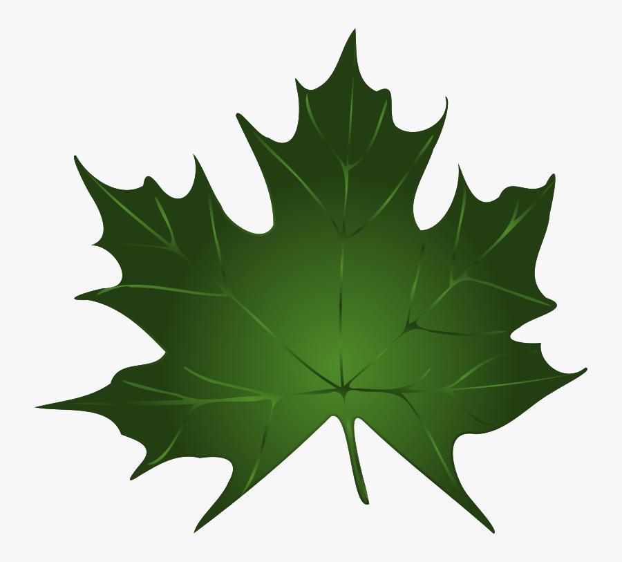 Thumb Image - Green Fall Leaves Clip Art, Transparent Clipart