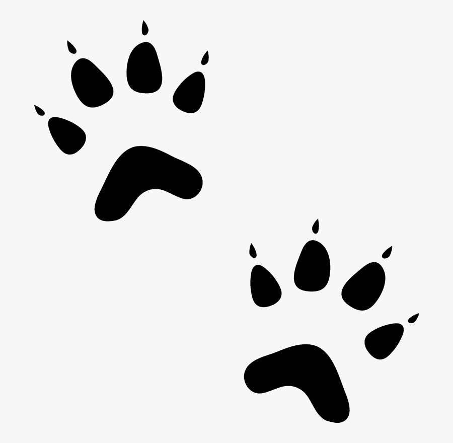 Cat Paw Prints Images Desktop Backgrounds Clip Library - Cat Paw Rubber Stamps, Transparent Clipart