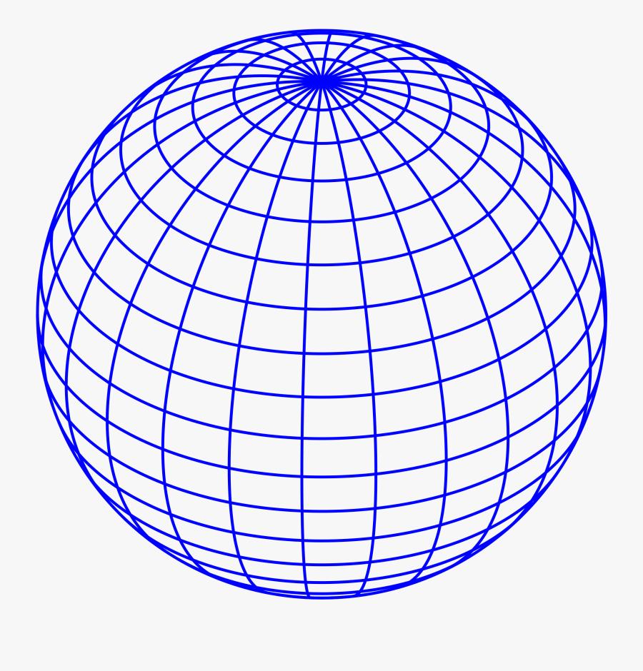 Earth Globe Clipart Vector Clip Art Free Design - Globe Lines, Transparent Clipart