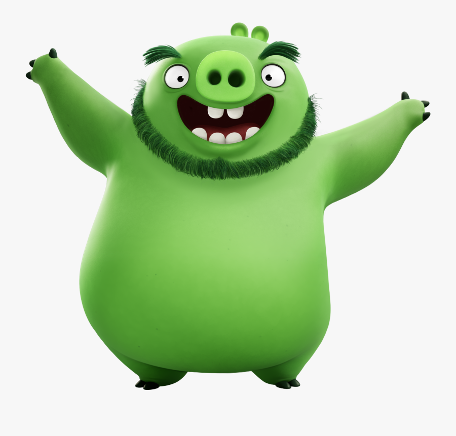 The Angry Birds Movie Pig Leonard Png Transparent Image - Leonard Angry Birds 2, Transparent Clipart