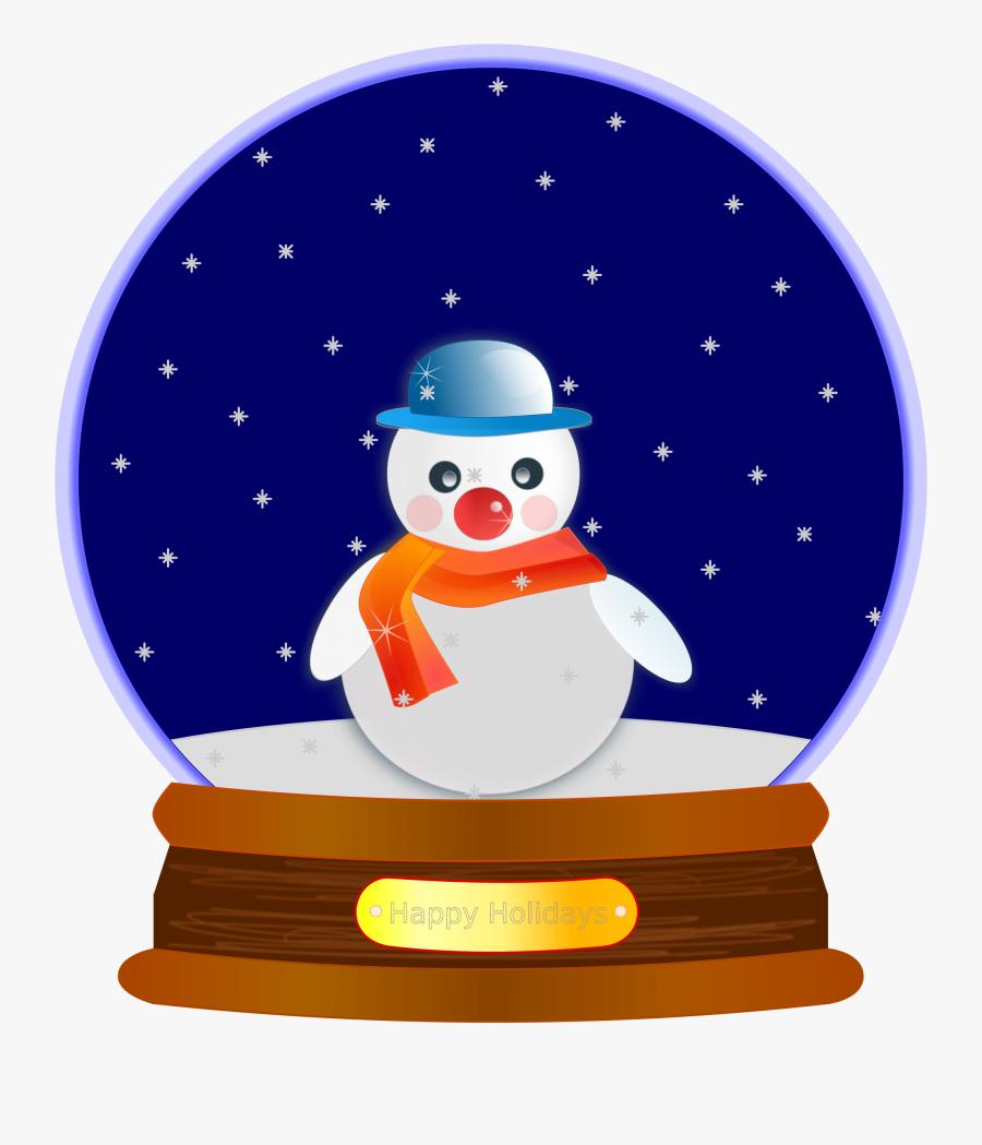 Thumb Image - Snow Globe Clip Art, Transparent Clipart