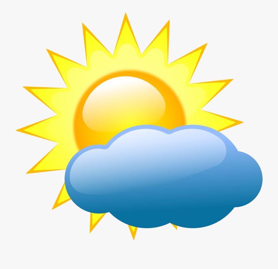 Summer Clipart Weather - Weather Symbols, Transparent Clipart