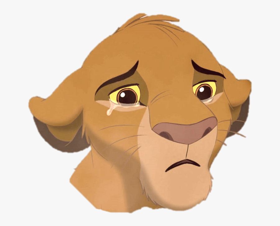 Dead Rising Clipart Lion - Lion King Simba Sad, Transparent Clipart