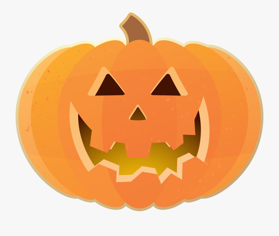 Pumpkin Clip Art - Carved Pumpkin Clip Art, Transparent Clipart
