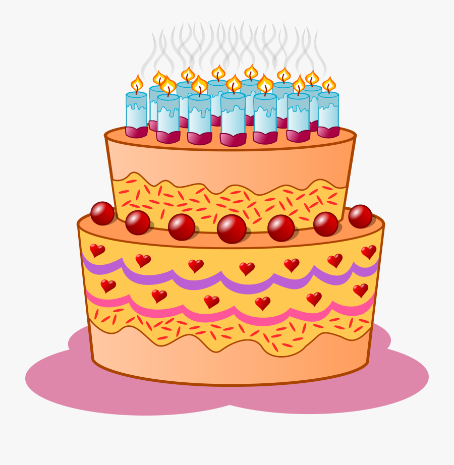 Birthday Cake Clipart Png - Birthday Cake Clip Art, Transparent Clipart