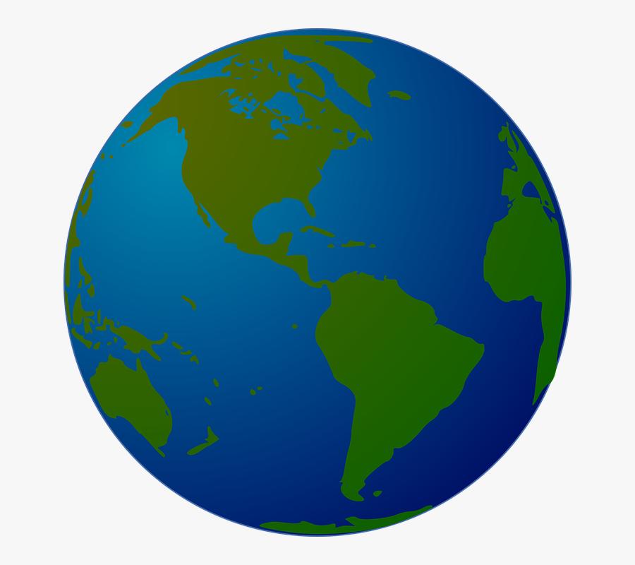 Globe Clipart Small - Clipart World Globe, Transparent Clipart