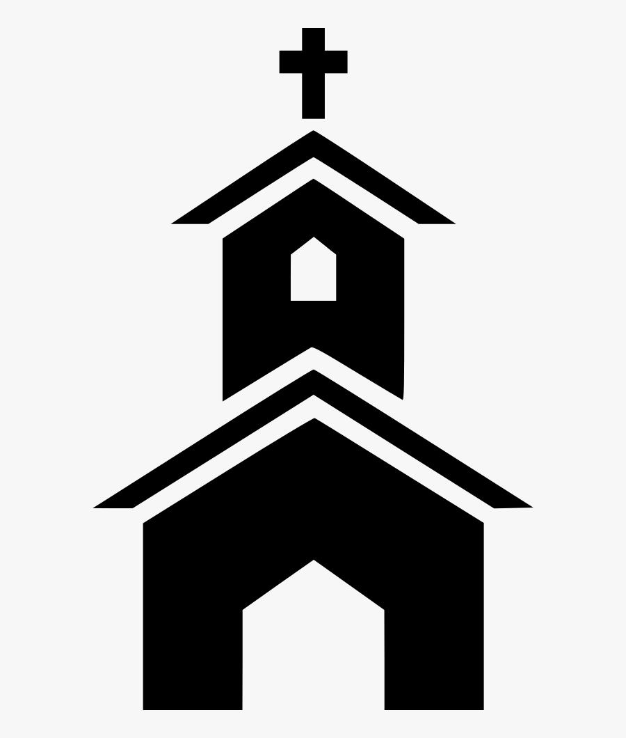 Church Clipart Catholic Church - Church Icon Png, Transparent Clipart