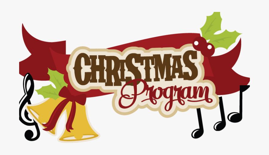 Rcca Musical Christmas Program - Clip Art Christmas Program, Transparent Clipart