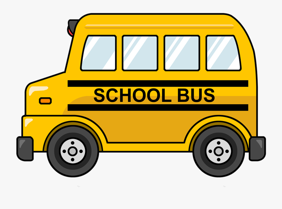 School Bus Clipart, Transparent Clipart