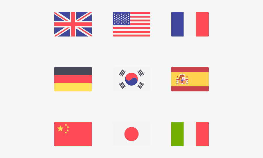 Clip Art Icon Packs Svg - Small Us Flag Icon, Transparent Clipart