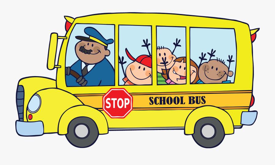 School Bus Clipart Png - School Bus Clipart, Transparent Clipart