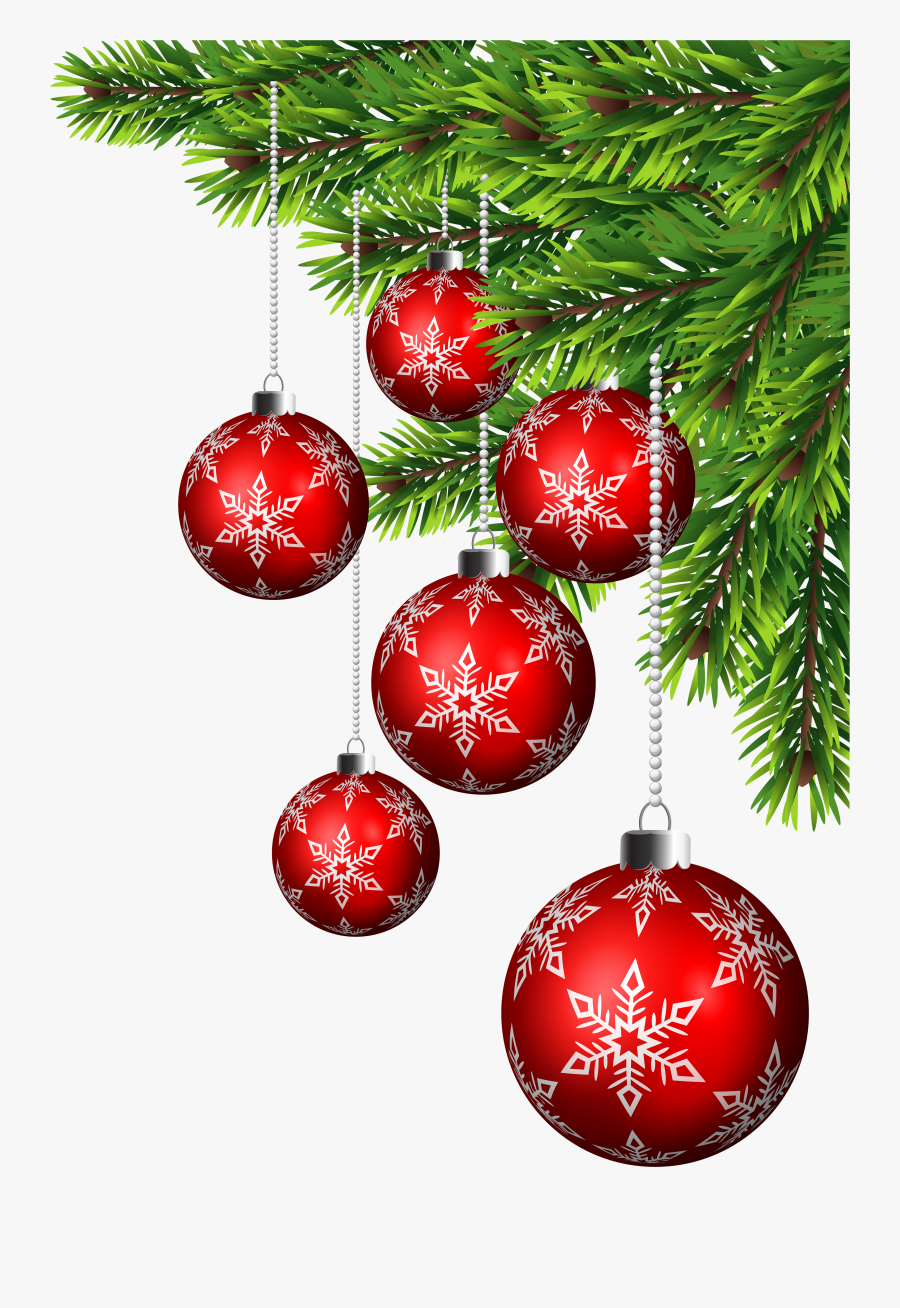 Christmas Ornament Christmas Decoration Santa Claus - Christmas Corner Border Transparent, Transparent Clipart