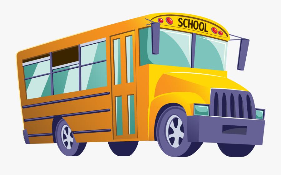 School Bus Clipart Png - School Bus Png, Transparent Clipart