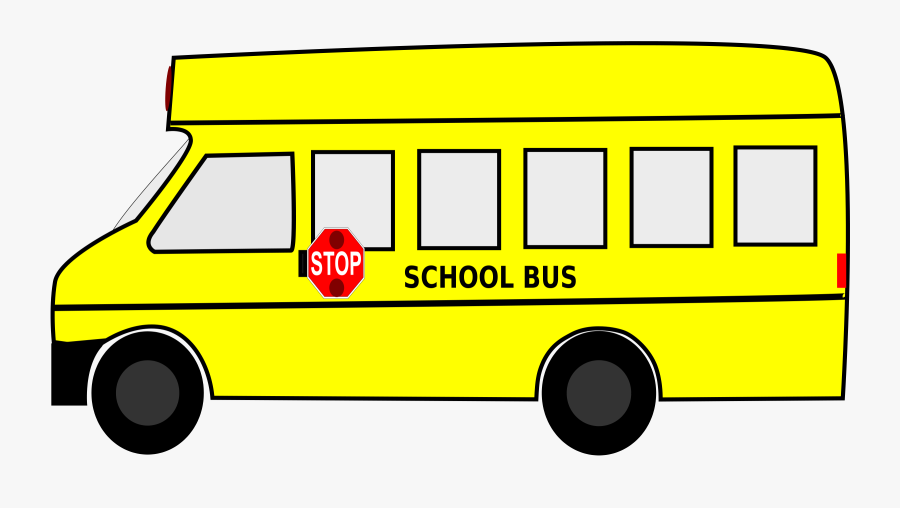 Free Clip Art School Bus Clipart Images - Yellow School Bus Clipart, Transparent Clipart