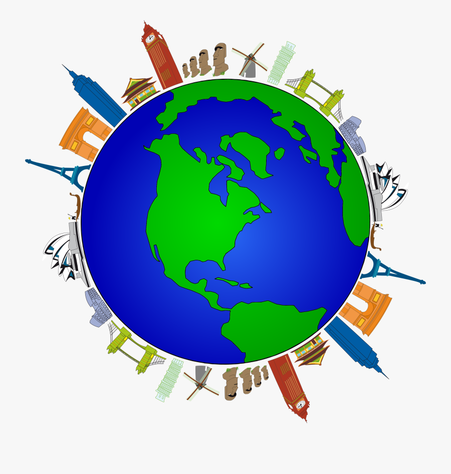 Human Behavior,globe,earth - Poster On Save Environment, Transparent Clipart