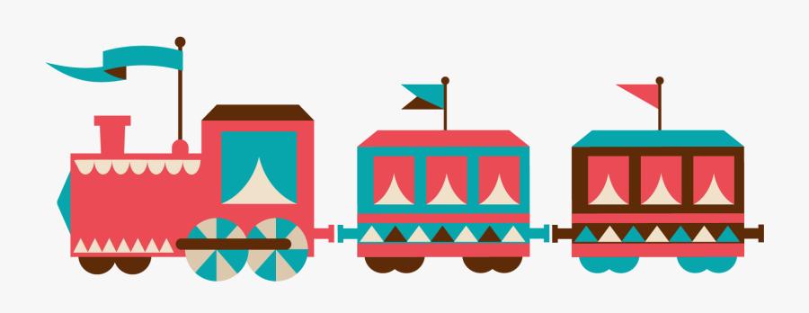 Train Clipart Indian - Cartoon Transparent Train, Transparent Clipart